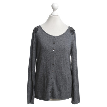 Bloom Cardigan in grey