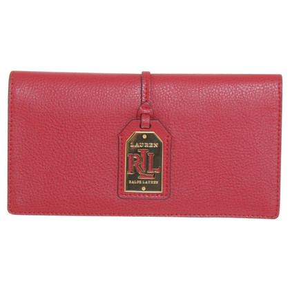 Ralph Lauren Wallet in red