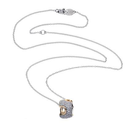 Damiani Collier avec pendentif en diamant