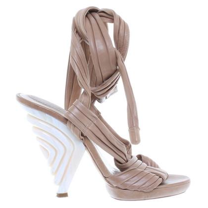 Loewe Sandalen beige