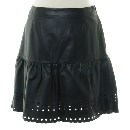 Red Valentino skirt leather