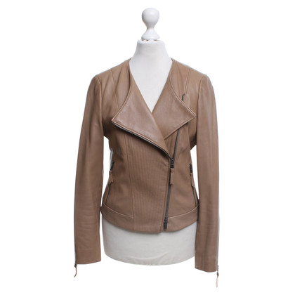 Schumacher Leather jacket in brown