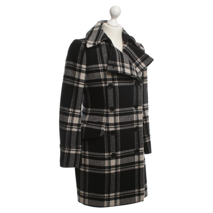Ralph Lauren Cappotto in lana con Plaid