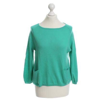 Marc Cain Fine knit sweater in green