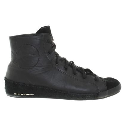 Yohji Yamamoto Sneakers in Schwarz