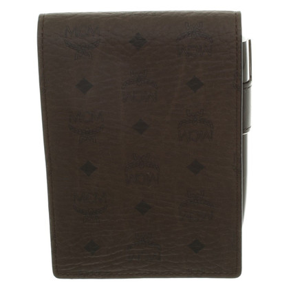MCM Custodia in pelle con notepad