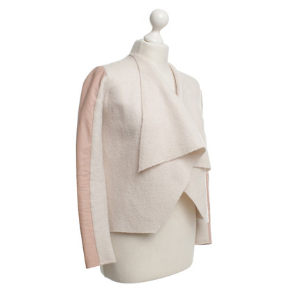 Ted Baker Jacket made of wool / leather