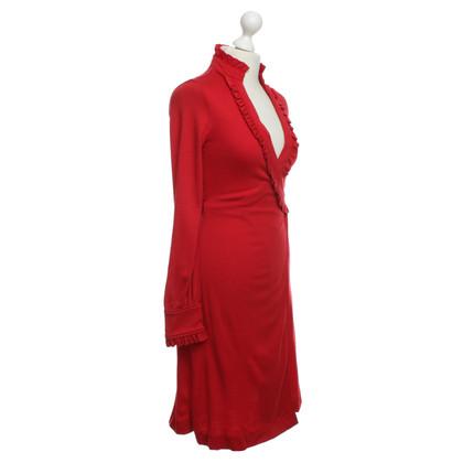 Diane von Furstenberg Wrap dress in red