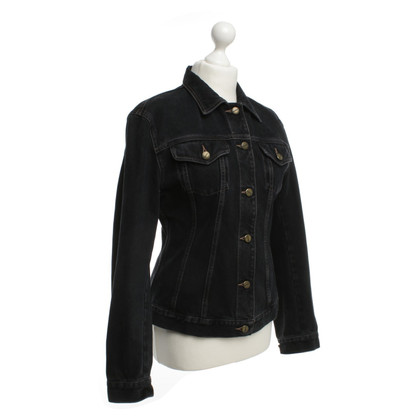 Marithé et Francois Girbaud Denim jacket in dark grey