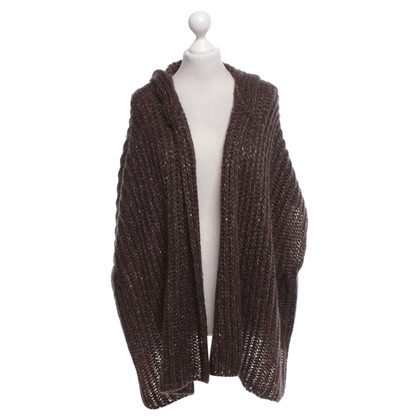 Luisa Cerano Knitted vest in brown
