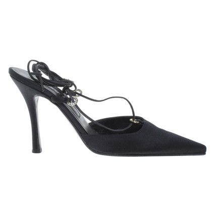 Sergio Rossi Slingbacks in black