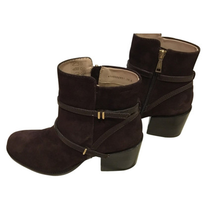 JOOP! Amelia ankle boot II suede / dark brown