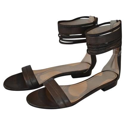 Max Mara Sandali con cinturini alla caviglia
