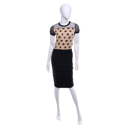 Red Valentino Dress with leopard pattern