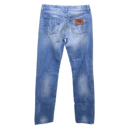 D&G Blauwe spijkerbroek