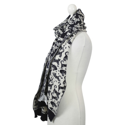 See by Chloé Scarf with cat motif