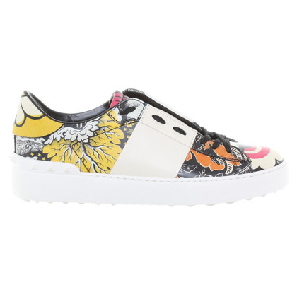 Valentino Sneakers with flower motif