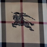 Burberry Sciarpa di seta con motivo a quadri