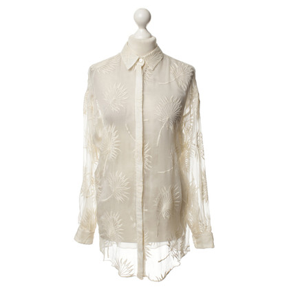 Kaviar Gauche Silk blouse in cream colours