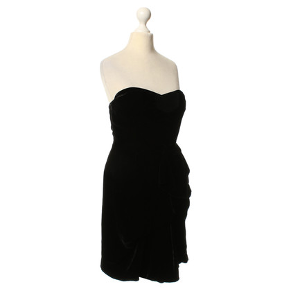 Marc by Marc Jacobs Strapless velvet gown