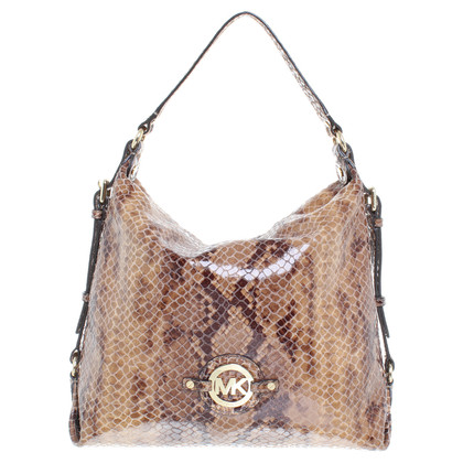 Michael Kors Handbag with snakeskin look