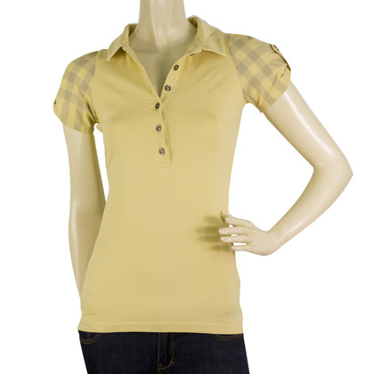 Burberry Polo shirt in yellow