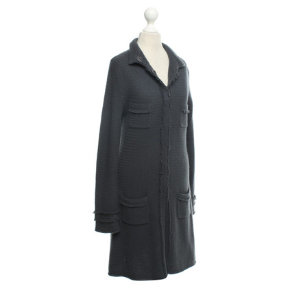 Allude Knitted coat made of cashmere