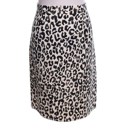 Chloé skirt with leopard pattern