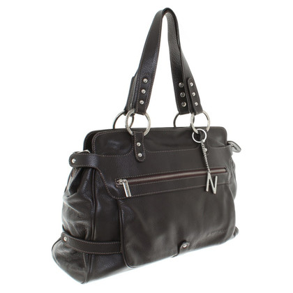 Navyboot Handbag in brown