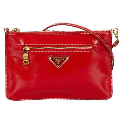 Prada Prada Patent Leather Shoulder Bag
