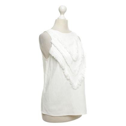 Altuzarra top in white