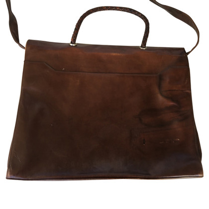 René Lezard Vintage Leather handbag