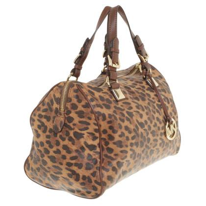 Michael Kors Handtasche im Leoparden-Look