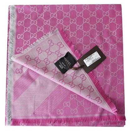 Gucci Guccissima cloth in pink / silver