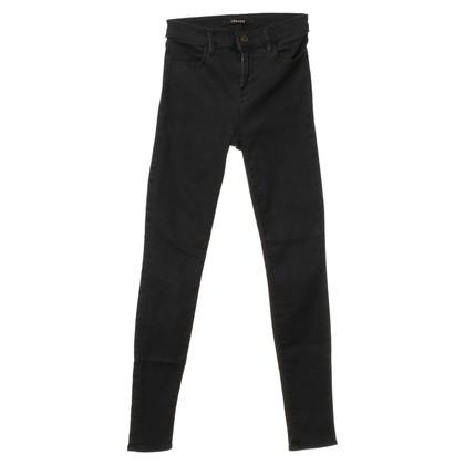 J Brand Skinny-Jeans in Dunkelgrau
