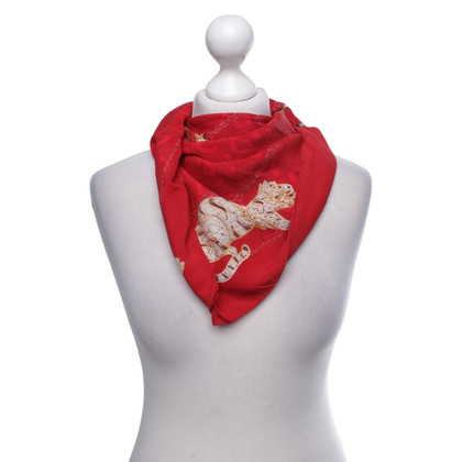 Cartier Silk scarf with motif print