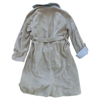 Brunello Cucinelli cappotto di pelle