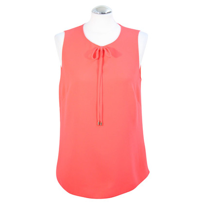 Ted Baker Top in rosso corallo