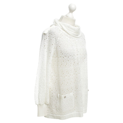 Chanel Shirt con pizzo