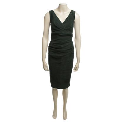 Talbot Runhof Kleid aus Leder