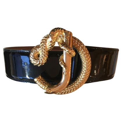 Roberto Cavalli Belt with musura buckle 80