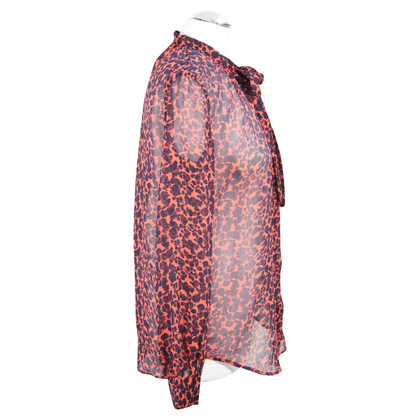 French Connection Blouse with animal print