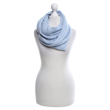 Other Designer Sem Per Lei - Cashmere scarf in light blue