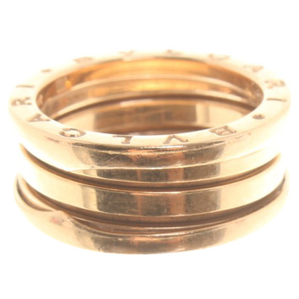 Bulgari Rose '' B.Zero 3 '' rose gold ring