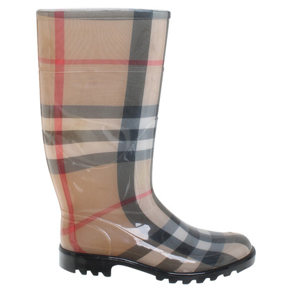 Burberry Rubber boots with pattern
