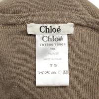 Chloé Taupefarbener Pullover