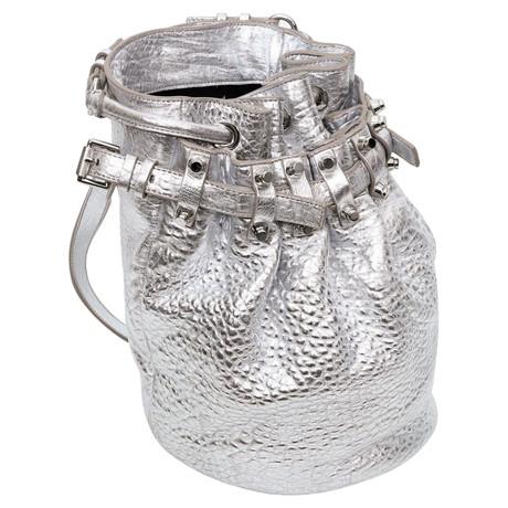 Alexander Wang Beuteltasche Silbern Freies Verschiffen Heißen Verkauf Versand Rabatt Verkauf Billig Verkaufen Authentisch Spielraum Bester Großhandel qDe7YSOf0