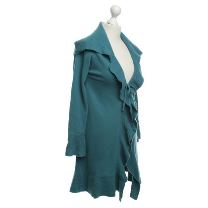 FTC Cashmere Cardigan in teal