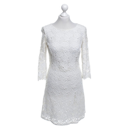 Reiss Lace dress in cream