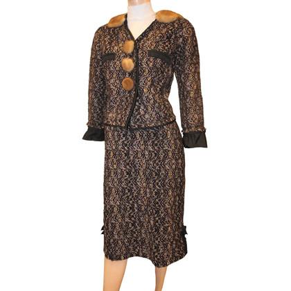 Louis Vuitton Bouclé kostuum